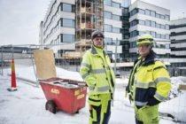 Ulf Sundman på arbetsplatsen med det stora lönebråket