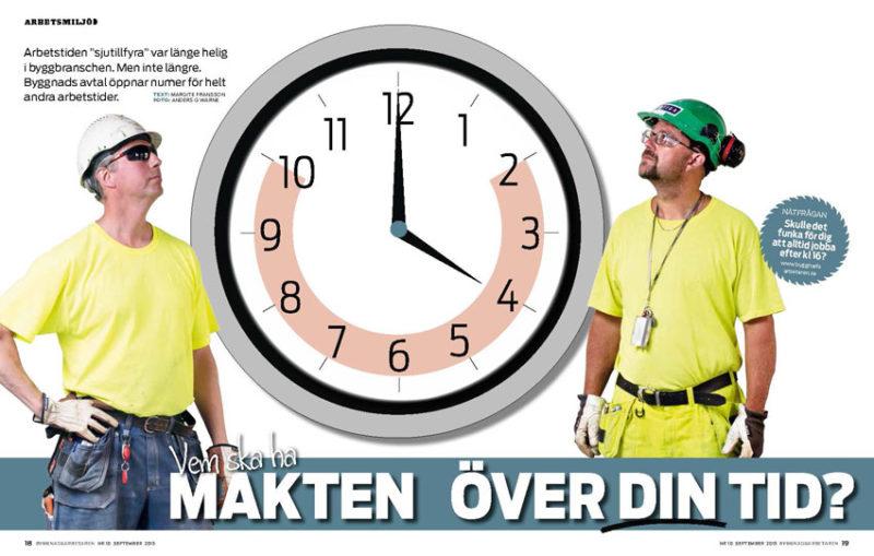 Byggnads kraver kortare arbetstid 2