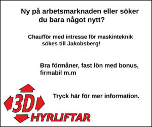 3D hyrliftar 300 x 250 V39-42 Jakobsberg chaufför
