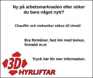 3D hyrliftar 300 x 250 V39-42 Umeå